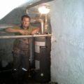 instalace plynového bojleru